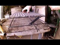 DIY Como hacer una parrilla Giratoria ( Paso a Paso) - YouTube