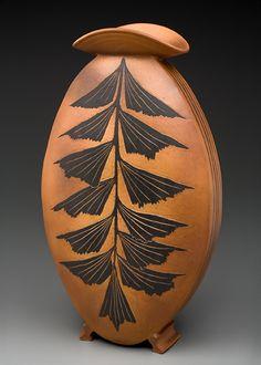Judy Weeden -palm vase