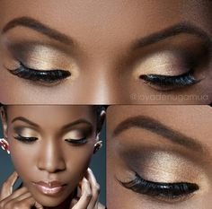 turquoise makeup for black women - Google Search