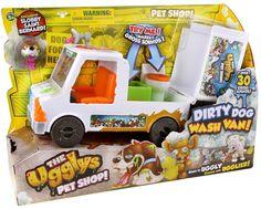 Uggly's Pet Shop Mini Figure Dirty Dog Wash Van