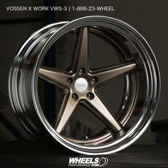 Vossen x Work Series VWS-3 finished in #GlossBronze centers with #Polished Lips @vossen | 1.888.23.WHEEL(94335)   Vossen Forged Wheel Pricing & Availability: @WheelsPerformance Authorized Vossen x Work dealer @WheelsPerformance | Worldwide Shipping Available    #wheels #wheelsp #wheelsgram #vossen #vossenxwork #vws3 #wpvws3 #workseries #vossenwheels #madeinjapan #teamvossen #wheelsperformance    Follow @WheelsPerformance  www.WheelsPerformance.com @WheelsPerformance