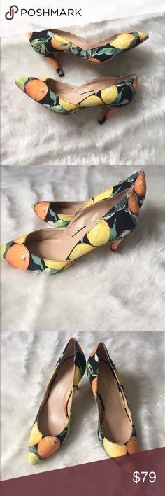 Loeffler Randall Fabric Floral Pumps Heels Sz 8.5 Loeffler Randall Women's Size 8.5 B Fabric Floral Pumps Heels.Leather Soles.Excellent Gently pre-owned Condition. Loeffler Randall Shoes Heels