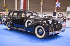 1937 Graf & Stift (Austria) Flat-Head Lincoln Engine at Classic Trucks, Classic Cars, Graf, Cars Uk, Steyr, Rear Wheel Drive, First Car, Car In The World, Automotive Design