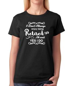 Retirement T shirt womens retirement shirtmens by ElainesCrafts