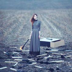 Fotografia surrealista de Oleg Oprisco. #fotografia #olegoprisco #fotografiasurrealista  #photography #art #arte