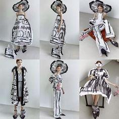 gimme some gimnes. — Kingdom Of Style Fashion Prints, Fashion Art, High Fashion, Fashion Show, Womens Fashion, Fashion Design, Haute Couture Style, Stoff Design, Illustration Mode