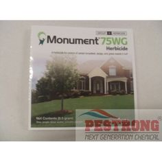 Monument 75WG Herbicide for warm season grasses - 0.5 gram packetNew Product - On Sale! $16.95  Buy 5 or more quantities: $15.95  per each Buy 10 or more quantities: $14.95  per each Buy 20 or more quantities: $13.95  per each