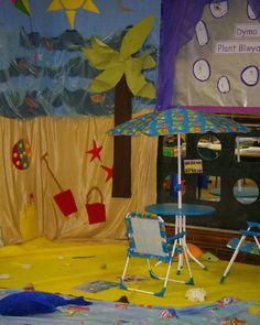 Seaside role-play classroom display photo - Photo gallery - SparkleBox