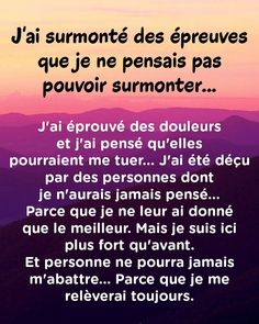 Wise Quotes, Words Quotes, Positive Attitude, Positive Quotes, Positive Motivation, Mantra, Thinking Quotes, French Quotes, Positive Affirmations