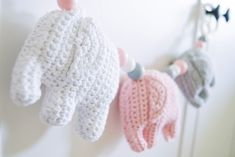 virkattu norsu vaunulelu Crochet Elephant, Knitting For Kids, Kids And Parenting, Blog, Diy, Tutorials, Bricolage, Blogging, Do It Yourself