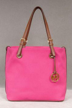 Pink Michael Kors Bag. Love!