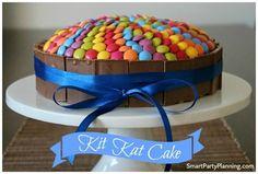 Fonte: http://smartpartyplanning.com/kit-kat-cake/