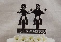 Hey, I found this really awesome Etsy listing at https://www.etsy.com/listing/221727320/custom-cake-topper-man-and-woman-on