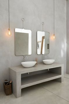 Cemcrete Cement Based Finish Bathroom Vanity Cemcrete
