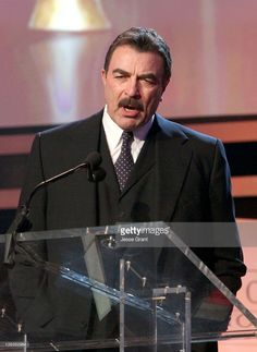 Actor Tom Selleck speaks onstage during the 2012 Writers Guild Awards at the Hollywood Palladium on February 19, 2012 in Los Angeles, California.