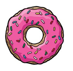 Render The Simpsons - Renders Donuts Simpson