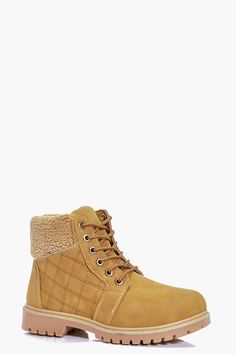 Martha Quilted Hiker Boot