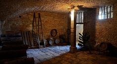 Les caves Dans les sous sol du château de la Ferté Saint-Aubin