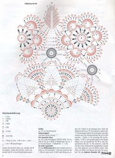 Álbumes web de Picasa #crochet #crochetchart