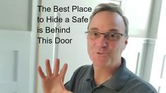 Where to Hide a Safe - Best & Worst Places to Hide a Safe in Your House - YouTube Diy Lock, Bookcase Door, Bookcases, Security Safe, Hidden Spaces, Safe Lock, Survival Items, Underground Homes, Live And Learn
