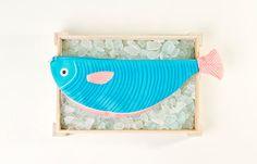 TIGRE. Borsa in forna di pesce a mano 40x15 di DonFisherShop