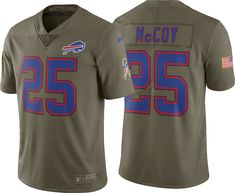 08789493c Nike Men s Home Limited Salute to Service Buffalo Bills LeSean McCoy  25  Jersey
