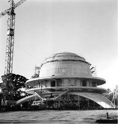 Planetario de Buenos Aires en construcción