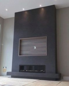 Living Room With Fireplace, New Living Room, Living Room Modern, Living Room Designs, Living Room Decor, Tv Wall Ideas Living Room, Small Living, Modern Tv Wall, Fireplace Tv Wall