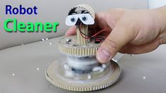 Make an Auto Mini Robot Vacuum Cleaner at home 자동 미니 로봇 진공 청소기를 집에서 만들자