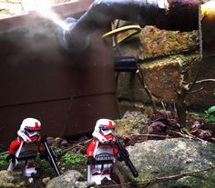 Alternate shot of Saturday's Post! I didn't like the steam so I put out the second shot first. - - #legoland #legos #lego #brickinsider #brickcentral #legostagram #legostarwars #bricktopia #brickcity #bountyhunter #shocktrooper #stormtrooper #starwars #starwarstheforceawakens #toyography #toyslagram by bricktopia