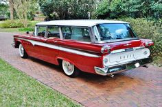 1959 Edsel Villager Wagon Maintenance/restoration of old/vintage vehicles: the material for new cogs/casters/gears/pads could be cast polyamide which I (Cast polyamide) can produce. My contact: tatjana.alic@windowslive.com
