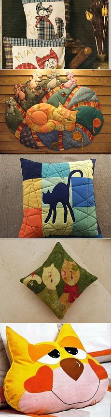 Dead link, pictures for pillow ideas, no pattern