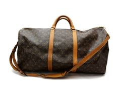 Save big on the Louis Vuitton Keepall W 60 W/Strap Brown Leather Weekend/Travel Bag! This travel bag is a top 10 member favorite on Tradesy. Louis Vuitton Luggage, Louis Vuitton Neverfull Pm, Louis Vuitton Monogram, Weekend Travel Bag, Chanel Classic Flap, Leather Shoulder Bag, Brown Leather, Crossbody Bag, Pouch