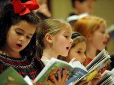 Crianças cantando Hinos CCB
