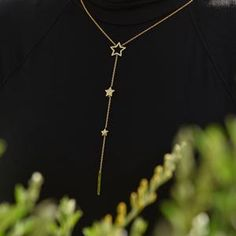 She is a real statement piece, beautiful & will flatter any outfit & can be paired with a shorter necklace for layering Layering Necklaces, Trendy Necklaces, Coin Necklace, Short Necklace, Fashion Necklace, Fashion Jewelry, Gold Stars, Jewelry Stores, Wedding Jewelry