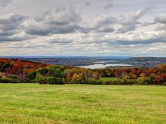 #autumn in the #fingerlakes means leafs as far as the eye can see and amazing lakes.