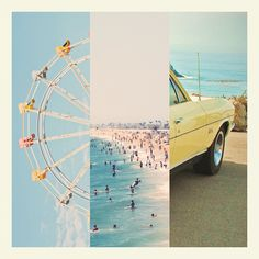 Summer, beach, amusement parks ☀ A few of my favorite things