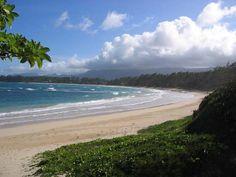Enjoy a day at the beach at Malaekahana State Recreation Area