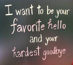Hello And  Goodbye..@Cali Stephenson I Iove you!!!