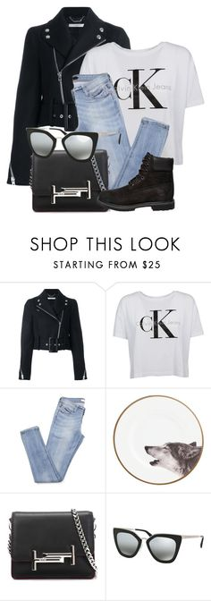 """""""Casual"""" by smartbuyglasses-uk ❤ liked on Polyvore featuring Givenchy, Calvin Klein, Tod's, Prada and Timberland"""