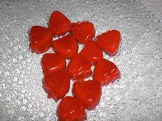 Erdbeer-Schaumzucker-Gummis