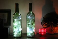 Want a cool way to make use of those old wine bottles in your house, turn them into accent lights to add mood in your living room or bedroom! Gather all the empty wine bottles you can find, in this project 2 to 3 bottles would do the...