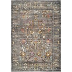 Living Room - Rug Squared Princeton Taupe Patterned Area Rug (7'9 x 9'9) | Overstock.com Shopping - The Best Deals on 7x9 - 10x14 Rugs