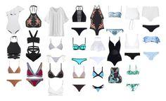 """My closet"" by sez99 ❤ liked on Polyvore featuring Lisa Marie Fernandez, Zimmermann, WithChic, Dolce&Gabbana, Ack, Marysia Swim, Paul Smith, L*Space, Hervé Léger and Melissa Odabash"