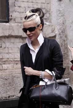Her niece Daphne Guinness, one of the few out there now who has a real sense of her own style.