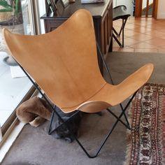 BKF Butterfly Chairs NZ and italian leather, $680-$750 sling, $380 frame - muumuudesign Australia
