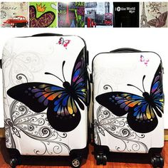 Trolley Case, Luggage Suitcase, Butterfly Print, Sunglasses Case, Shells, Sale Sale, Handbags, Butterflies, Prints