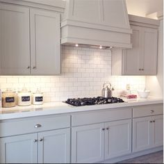 Benjamin Moore Revere Pewter Cabinets - Alice Lane Home