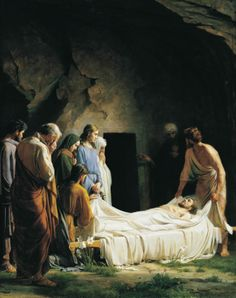 greluc:  The Burial of Christ by Carl Heinrich Bloch