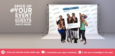Crowdsigns - Giant Social Media Photo Booth for Events